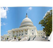 Washington D.C. Capital Building Poster