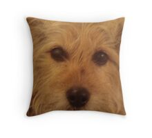 Can I Show You My Best Side? Throw Pillow