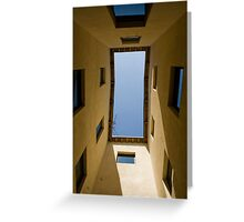 A window on the sky Greeting Card