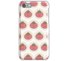 Happy Kawaii Tomato iPhone Case/Skin