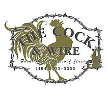 The Cock and Wire zombie pub Photographic Print