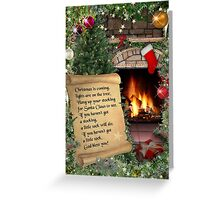 Christmas is coming...  Greeting Card