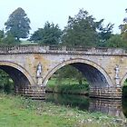 Bridge at Chatsworth, Derbyshire by Terry Senior