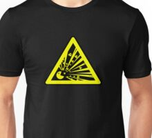Indulgence explosion warning Unisex T-Shirt