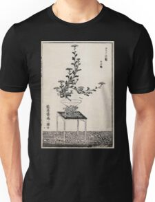 Shofu Enshuryu ikebana hamana no umi Flower Arrangement Toto Shoshi V3 1835 0008 Unisex T-Shirt