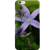 Pale Purple Lady  iPhone Case/Skin