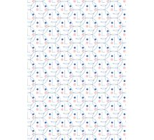 Happy face pattern Photographic Print