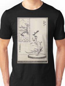 Shofu Enshuryu ikebana hamana no umi Flower Arrangement Toto Shoshi V1 1835 0016 Unisex T-Shirt