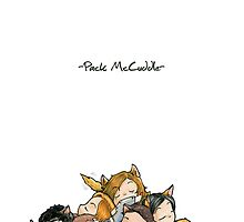 Pack McCuddle - Teen Wolf by aredblush