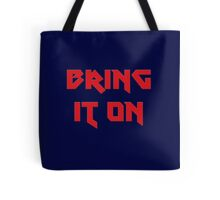 Bring It On - Fitness T-Shirt The Rock Sticker Tote Bag