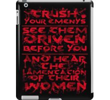 Conan Blood Quote iPad Case/Skin