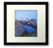 Mountain Trolls Framed Print