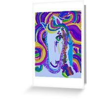 'The Rainbow Unicorn' by Gabby Liset (2014) Greeting Card