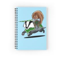 Squirrel Rider! Spiral Notebook