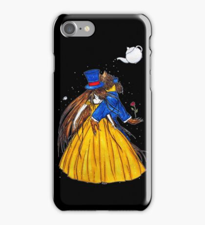 Who is the Mad Hatter ? Beauty and the Beast iPhone Case/Skin