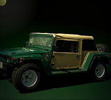 """1967 VW Thing """"Mini Hummer""""  Converted to resemble a Hummer. by TeeMack"""