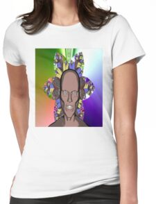 Cartoon Ghoul Womens Fitted T-Shirt