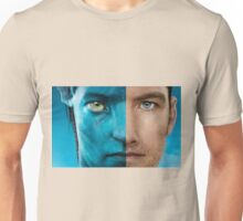 Man face portrait Unisex T-Shirt