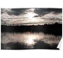 Rozelle Bay at Sunset Poster