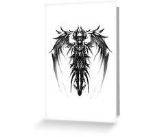 Queen of the darkness Greeting Card