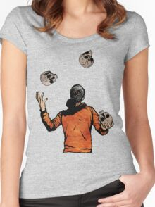 The Juggler Women's Fitted Scoop T-Shirt