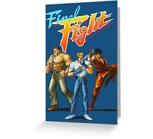 FINAL FIGHT CD Greeting Card