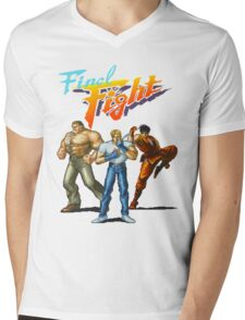 FINAL FIGHT CD Mens V-Neck T-Shirt