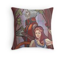 Rumpel and belle Throw Pillow