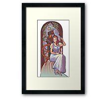 Rumpel and belle Framed Print