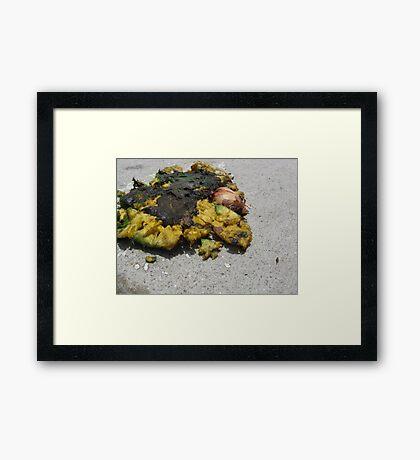 Avocado Carnage Framed Print