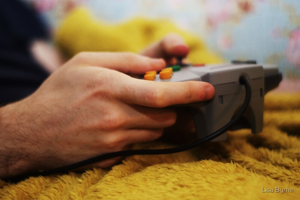 Nintendo by Lisa Byrne