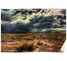 Storms over Northern Arizona Poster