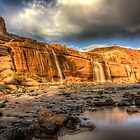 The Grand Falls of Northern Arizona by Mike Olbinski