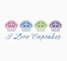 I love cupcakes  by Andi Bird