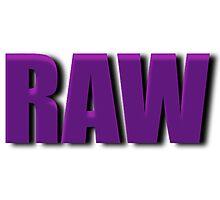 purple raw Photographic Print