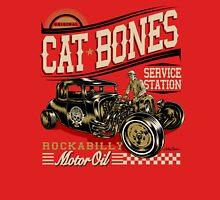 Cat Bones Service Station Color Unisex T-Shirt