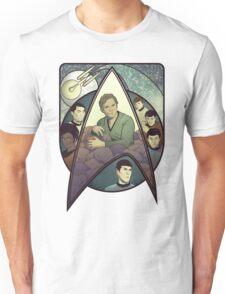 Star Trek Art Nouveau Unisex T-Shirt