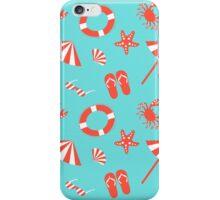 Beach pattern iPhone Case/Skin