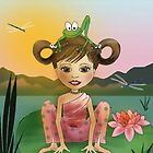 Frog Yoga by Kristy Spring-Brown