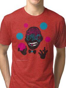 T-Shirt 28/85 (Workplace) by DEBASER Tri-blend T-Shirt
