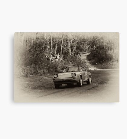 Rally Mazda Canvas Print