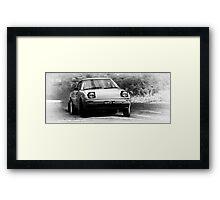 Rally Mazda Framed Print