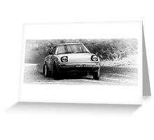 Rally Mazda Greeting Card