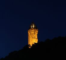 Wallace Monument, Stirling by ElviraTSquirrel