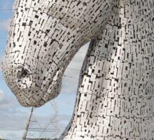 The Kelpies sculptures , Helix Park, Scotland Sticker