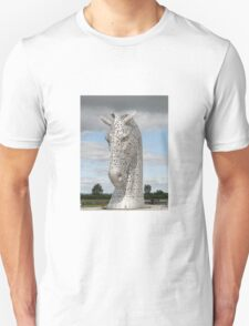 The Kelpies sculptures , Helix Park, Scotland T-Shirt