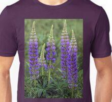 Sundial - Wild Maine Lupine Unisex T-Shirt