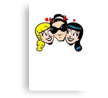 Bono's Girls Canvas Print