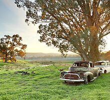 End of the Road, Bendigo, Australia by Michael Boniwell