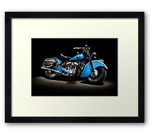 1948 Indian Chief Framed Print